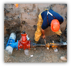 Construction of water service