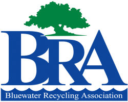 Blue Water Recycling Logo