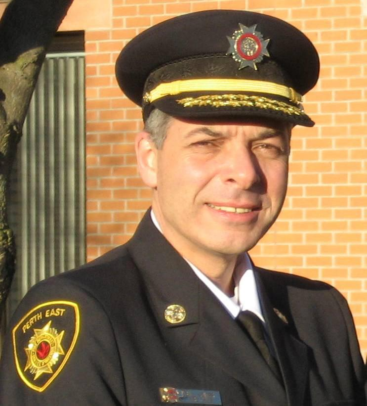 Fire Chief Bill Hunter