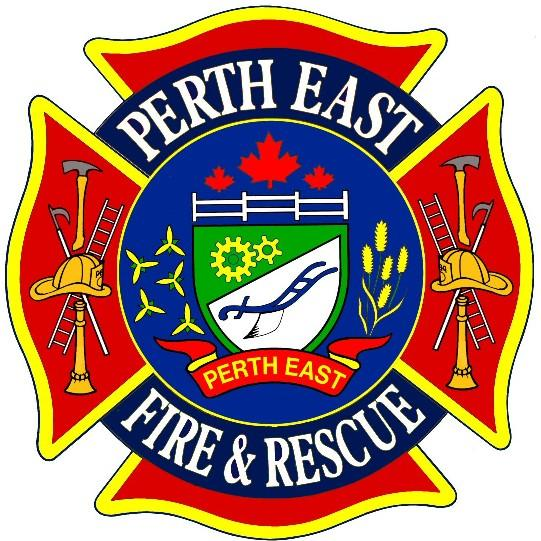 Perth East Fire & Rescue logo