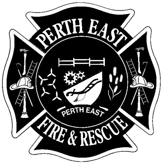 Perth East Fire Department logo