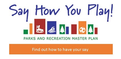 Say How You Play photo link to public input survey