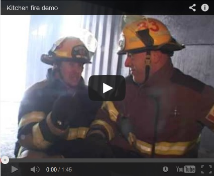 Kitchen Fire Safety Video