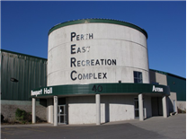 Front entrance to the Perth East Recreation Complex